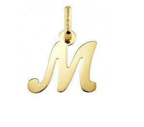 Colgantes con Letras de Oro
