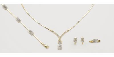 Juegos de joyas de Oro Amarillo