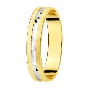Alianza Oro Bicolor 3,5 mm.