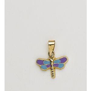 Colgante Oro Mariposa