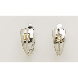 Pendientes Oro Diamantes -