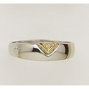 Anillo Oro y Diamante