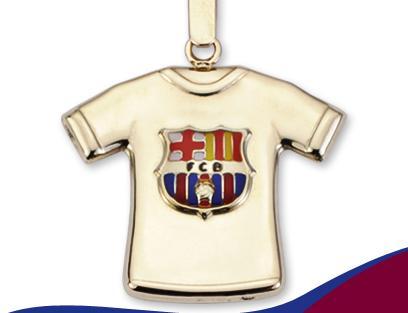Joyas del F.C. Barcelona de Oro 9K