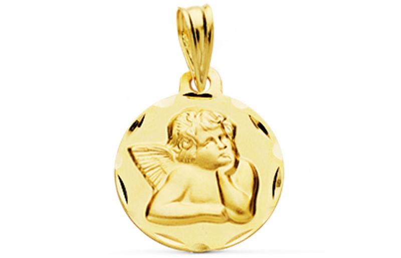 Medalla de Oro 18k Bebé - infantil