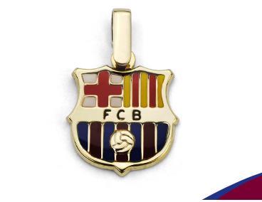 Joyas de F.C. Barcelona de Oro 18K