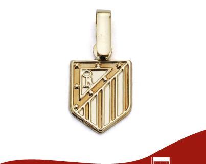 Joyas del Atlético de Madrid en Oro 9K