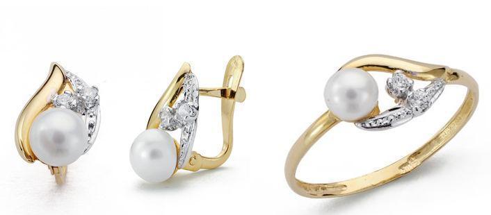 416842ada118 Conjunto de joyas de Oro Amarillo de Comunión Niña