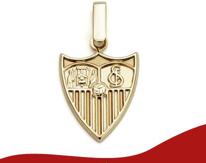 Joyas del Sevilla F.C. en Oro 9K