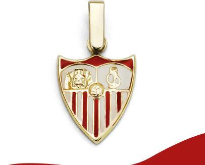 Joyas del Sevilla F.C. en Oro 18K