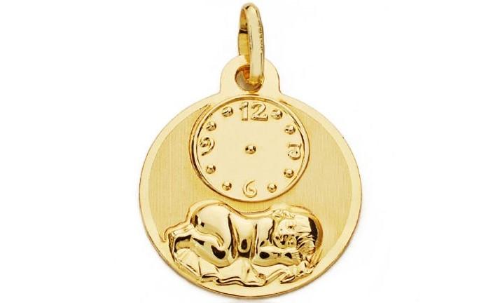 Medalla de Oro 9k Bebé - Infantil