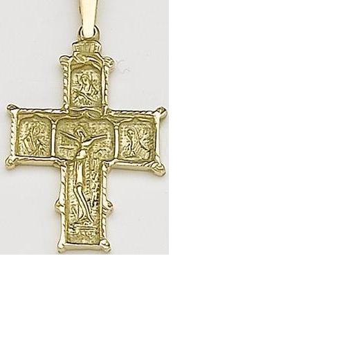 Cruces de hombre Oro 18 kt.