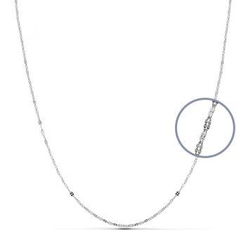 Cadena Oro Blanco 45 cm