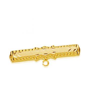 Alfiler Bebé Oro 30 x 6 mm.