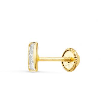 Piercing Oreja Oro 5 x 2 mm