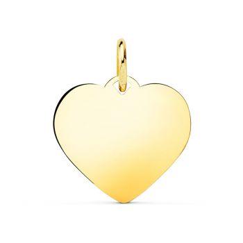 Colgante Oro Corazón 16 x 16 mm.