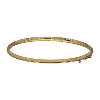 Caña Oro Tallada 3 mm.
