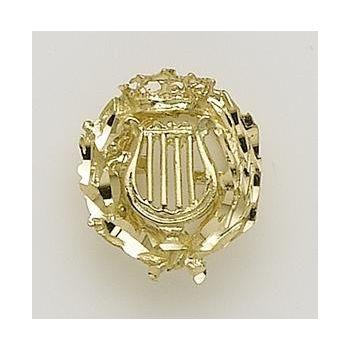 Insignia Oro Musico