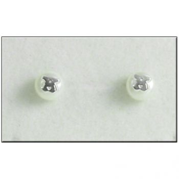 Pendientes Perla en Plata