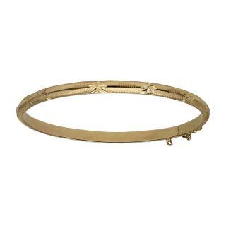 Caña Oro Tallada 4 mm.