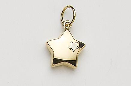 Boutique en ligne ba506 05eab Colgante Oro Estrella - Colgantes de Oro Mujer - Mujer