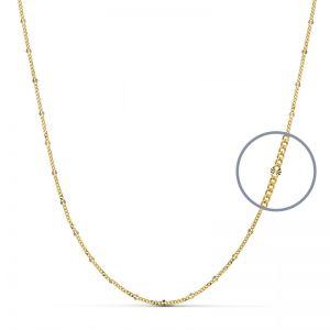 Cadena Oro Amarillo 45 cm.