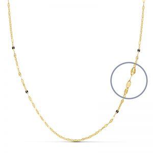 Cadena Oro Amarillo 50 cm.