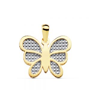 Colgante Oro Mariposa 17 x 14 mm.