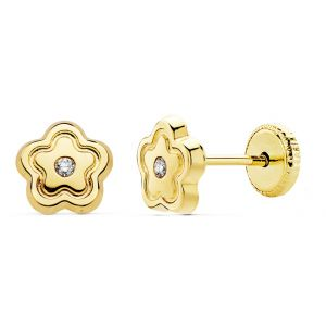 Pendientes Bebé Oro 6 mm.