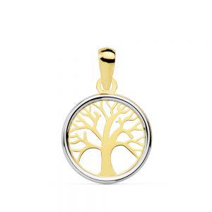 Colgante Oro Árbol de la Vida 12 mm.