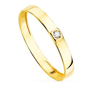 Anillo Oro Amarillo 2,2 mm.