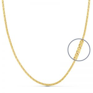 Cadena Oro Amarillo 60 cm.