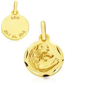 Colgante Oro Horóscopo Leo 13 mm.