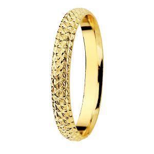 Alianza Oro Amarillo 9 kt. 2 mm.