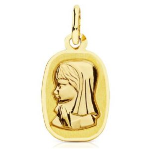 Medalla Oro 9kt
