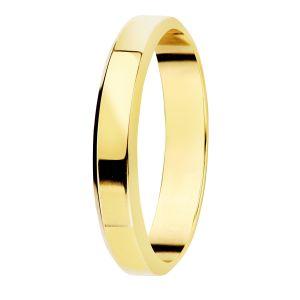 Alianza Oro Amarillo 9 kt. 3 mm.