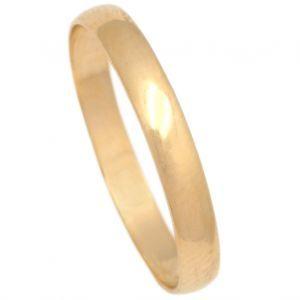 Alianza Oro Amarillo 3 mm.