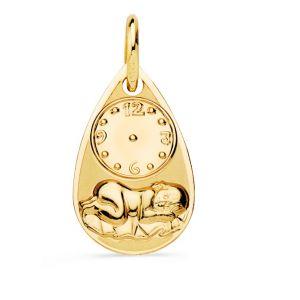 Medalla Bebé Oro 9 kt.